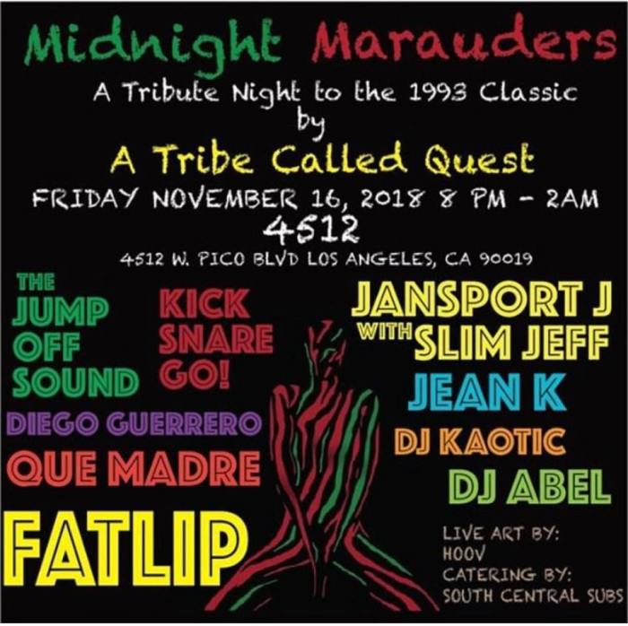 ATCQ Midnight Marauders Kick Snare Go